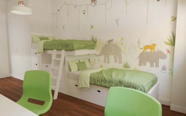 ¿Cómo decorar una habitación infantil?
