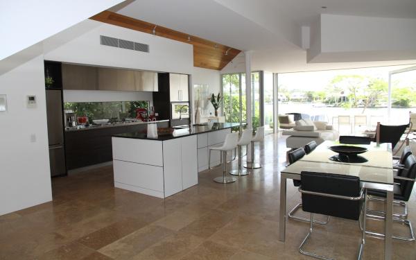 ▷ Las nuevas cocinas: integradas en el salón - Arkittai